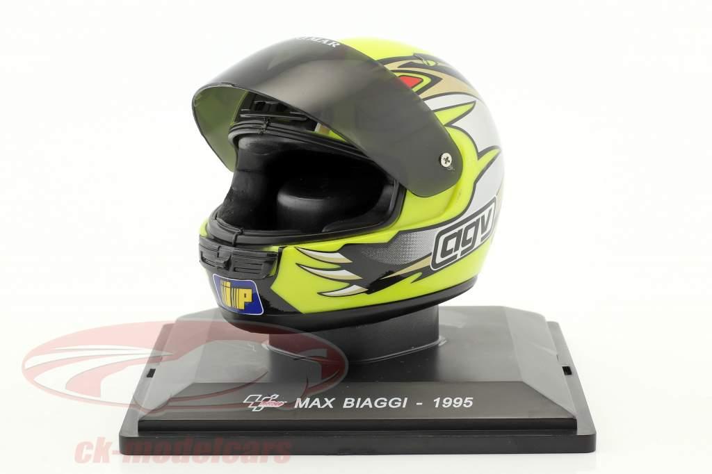 Max Biaggi champion du monde 250 cm³ 1995 casque 1:5 Altaya