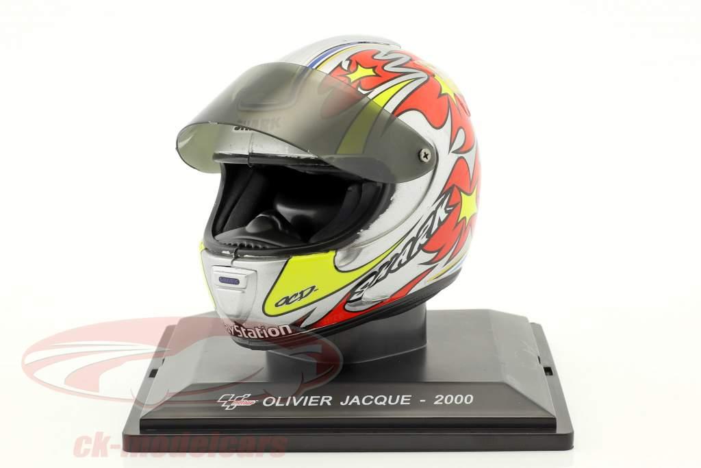 Olivier Jacque World Champion 250cm³ 2000 helmet 1:5 Altaya