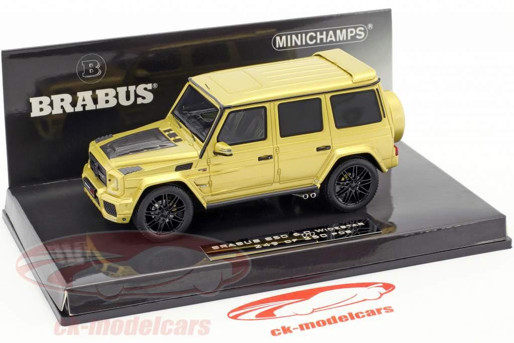 Brabus 850 6.0 Widestar year 2016 gold 1:43 Minichamps