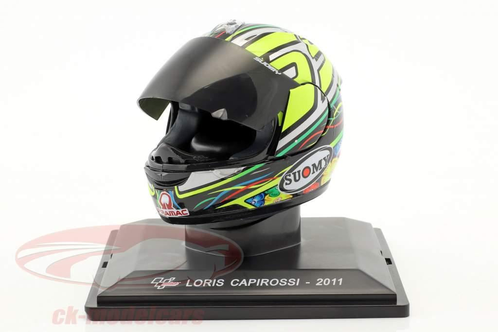 Loris Capirossi MotoGP 2011 Last Race casco 1:5 Altaya