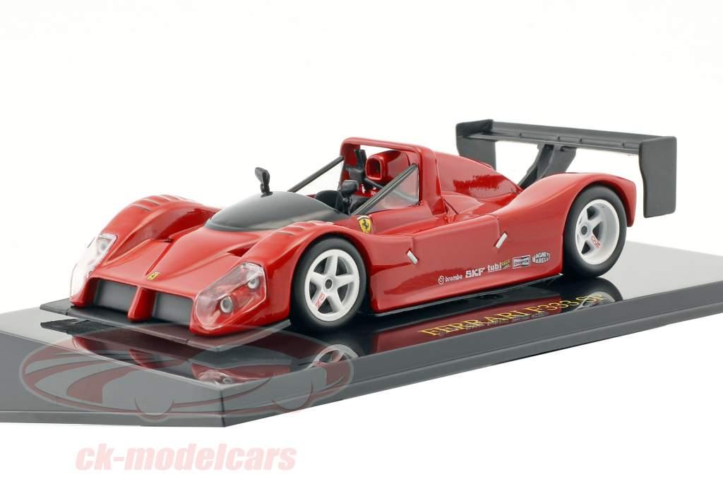 Ferrari F333 SP rosso Plain Body Edition con vetrina 1:43 Altaya