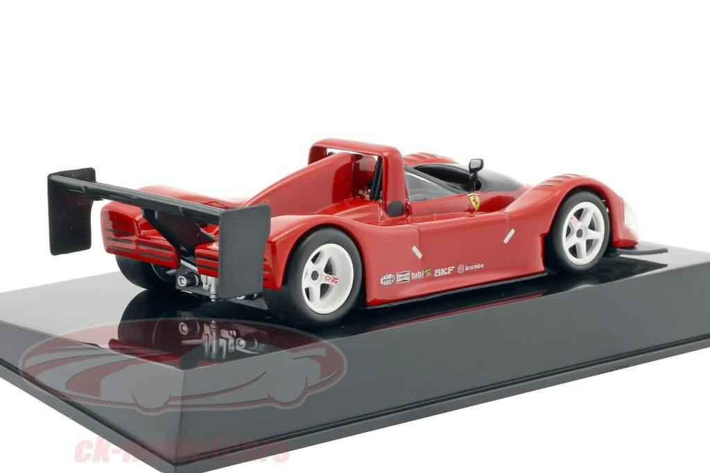Ferrari F333 SP rouge Plain Body Edition avec vitrine 1:43 Altaya