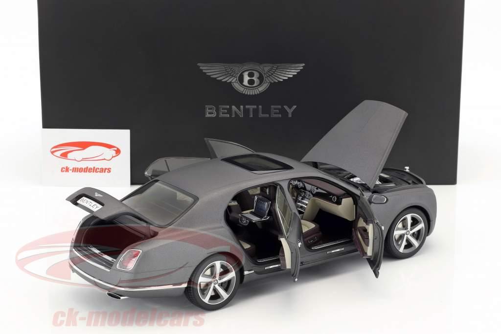 Bentley Mulsanne Speed dunkelgrau satin 1:18 Kyosho