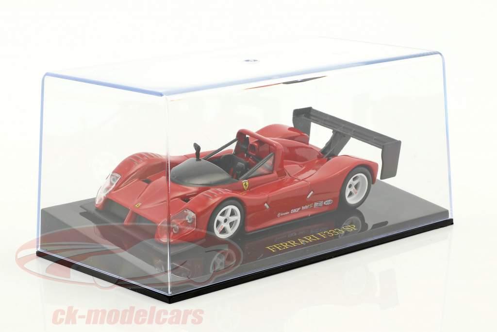 Ferrari F333 SP rot Plain Body Edition mit Vitrine 1:43 Altaya