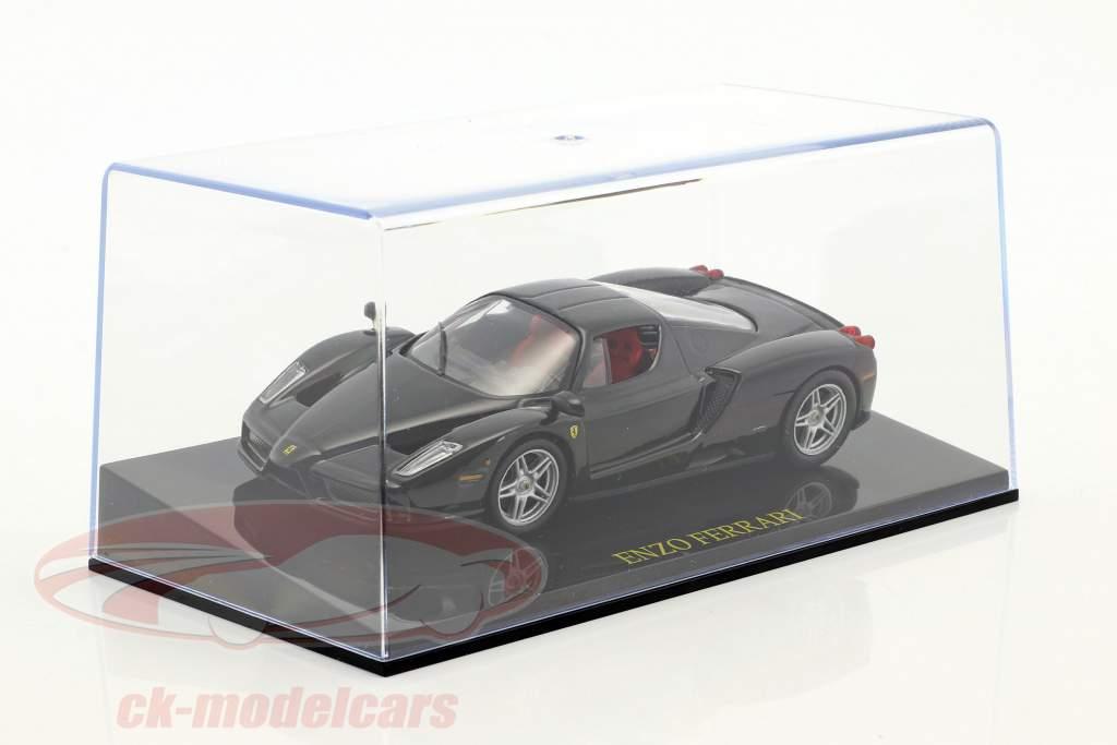 Ferrari Enzo black with showcase 1:43 Altaya