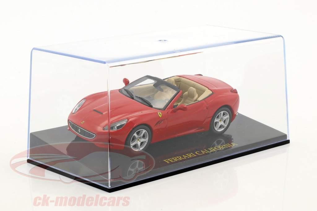 Ferrari California rojo con escaparate 1:43 Altaya