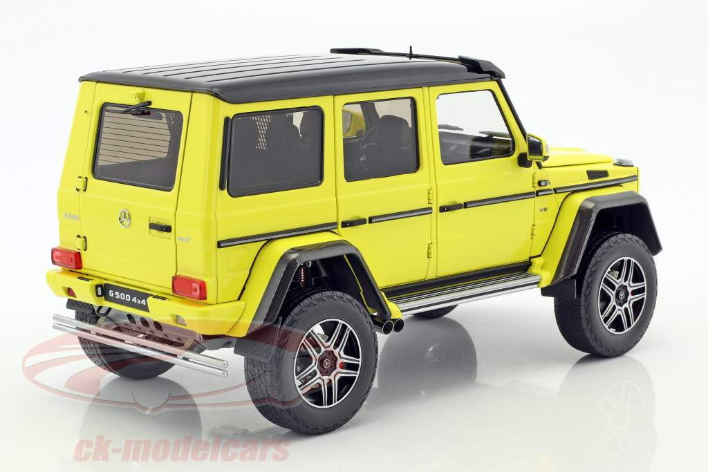 Mercedes-Benz G-Class 4x4² yellow 1:18 Almost Real