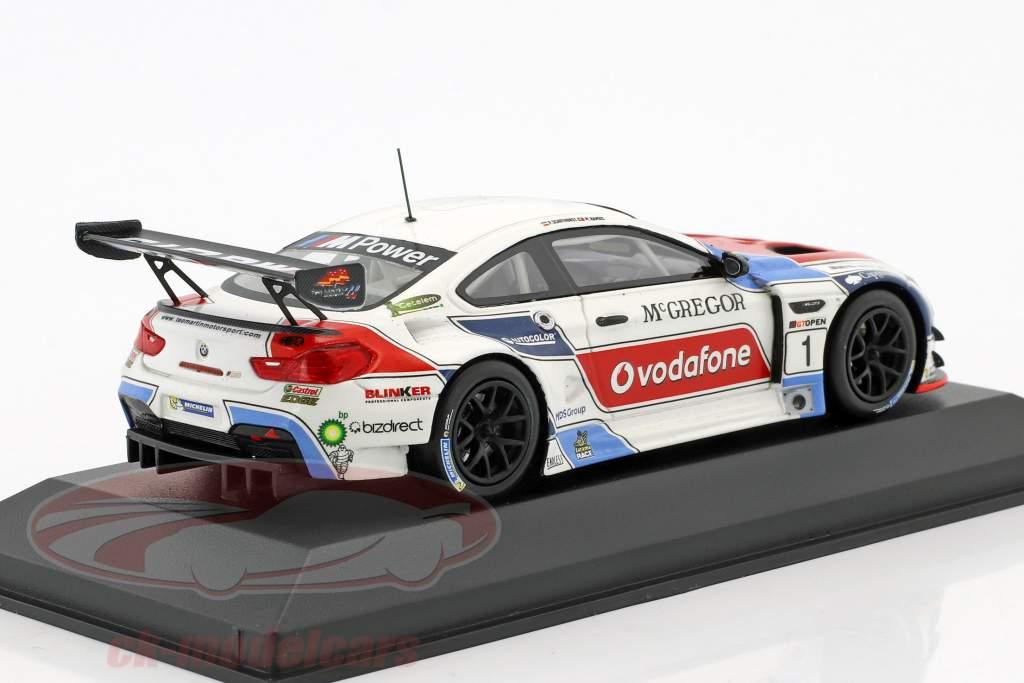 BMW M6 GT3 #1 International GT Open 2016 Ramos, Schothorst 1:43 Minichamps