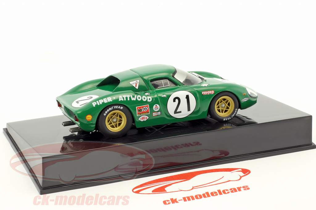 Ferrari 250 LM #21 24h LeMans 1968 Piper / Attwood mit Vitrine 1:43 Altaya