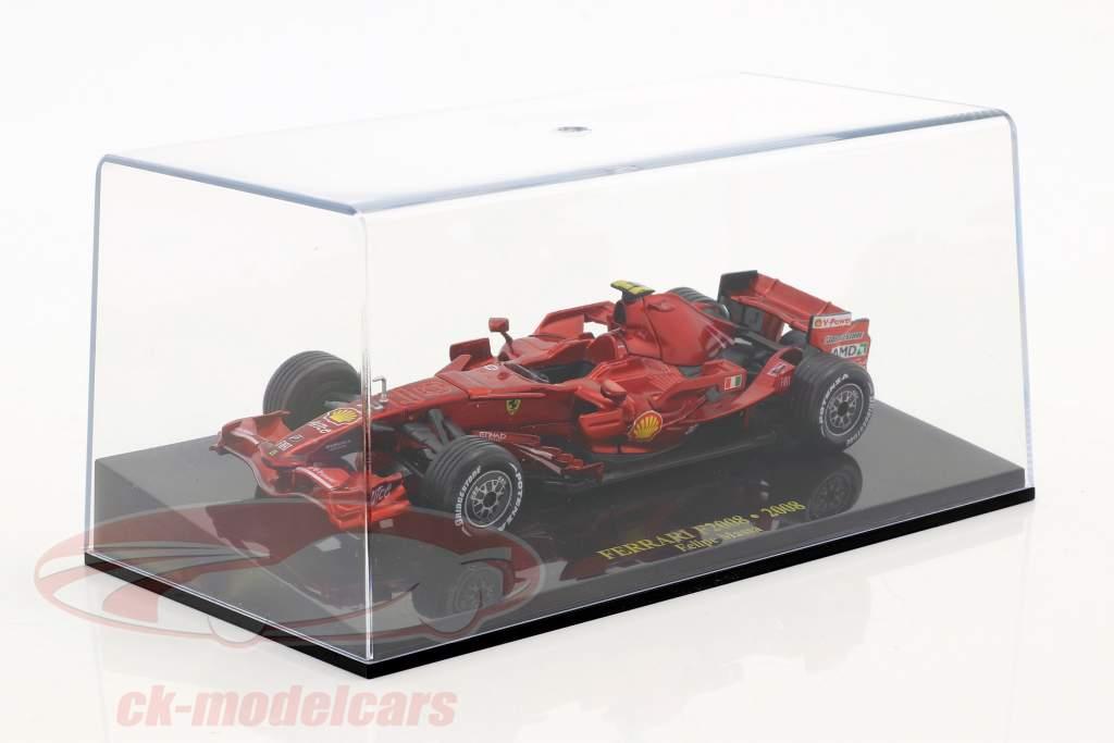 Felipe Massa Ferrari F2008 #2 Formel 1 2008 mit Vitrine 1:43 Altaya
