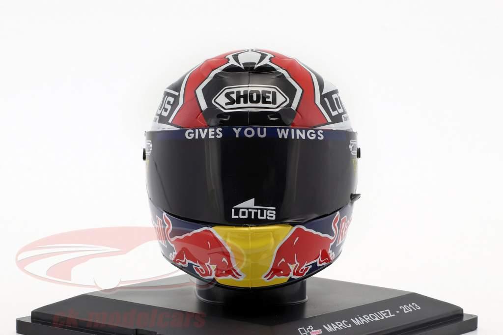 Marc Marquez Weltmeister MotoGP 2013 Helm 1:5 Altaya