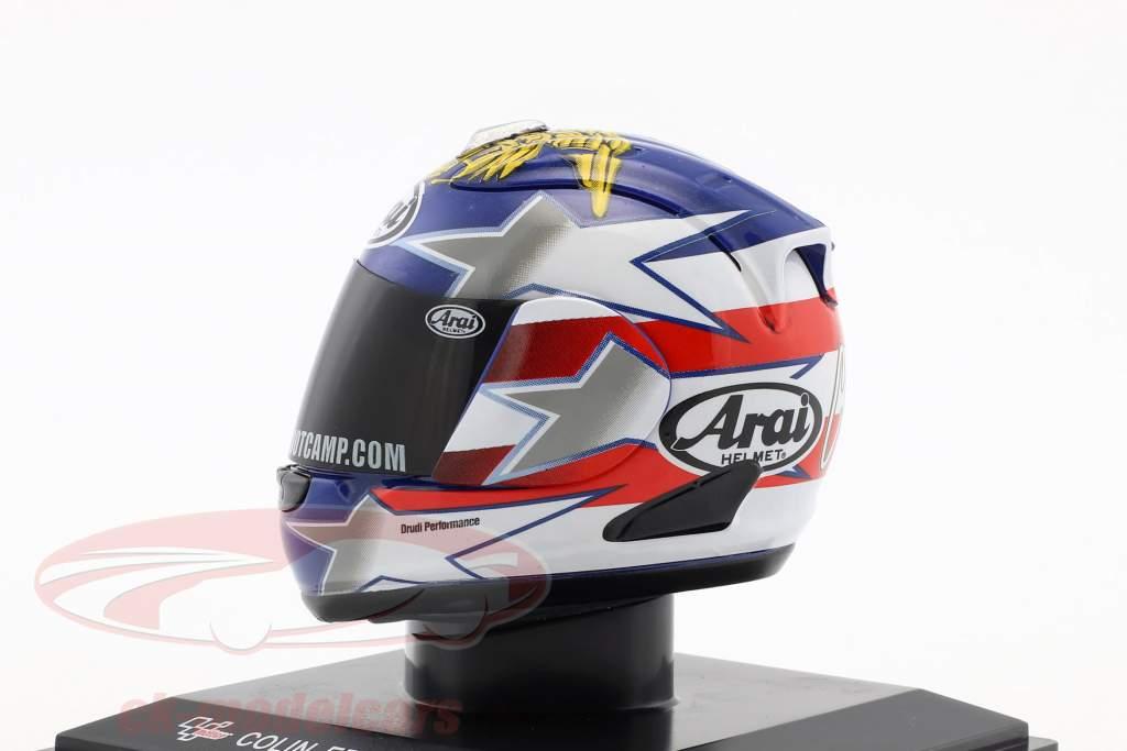 Colin Edwards MotoGP 2012 casque 1:5 Altaya