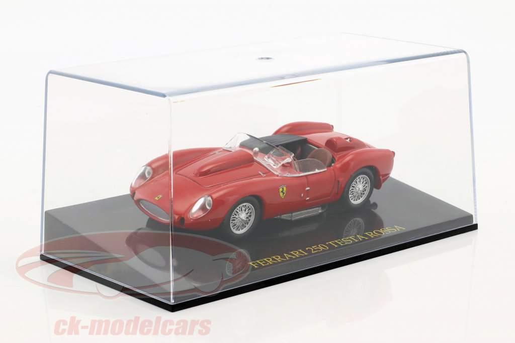 Ferrari 250 Testa Rossa red 1:43 with showcase 1:43 Altaya