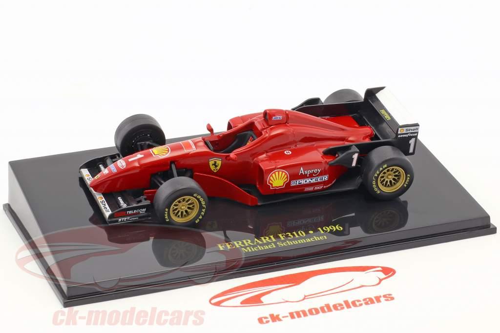 M. Schumacher Ferrari F310 Formula 1 1996 with showcase 1:43 Altaya
