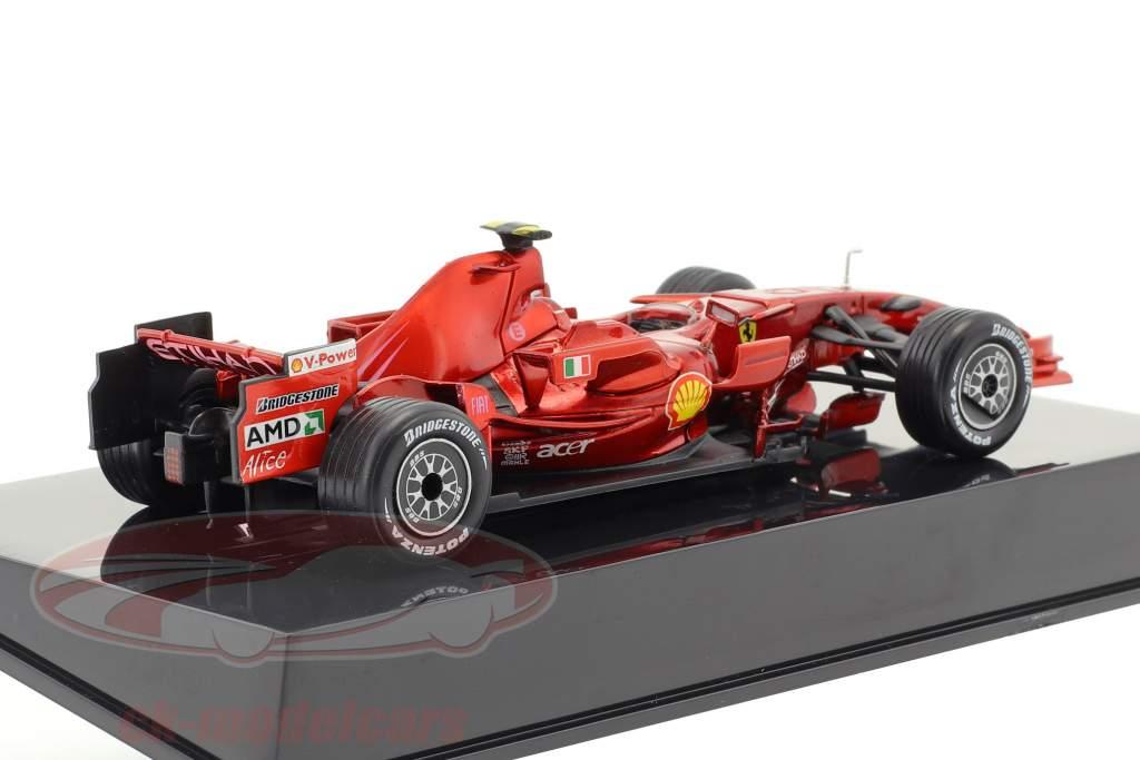 Felipe Massa Ferrari F2008 #2 formula 1 2008 con vetrina 1:43 Altaya