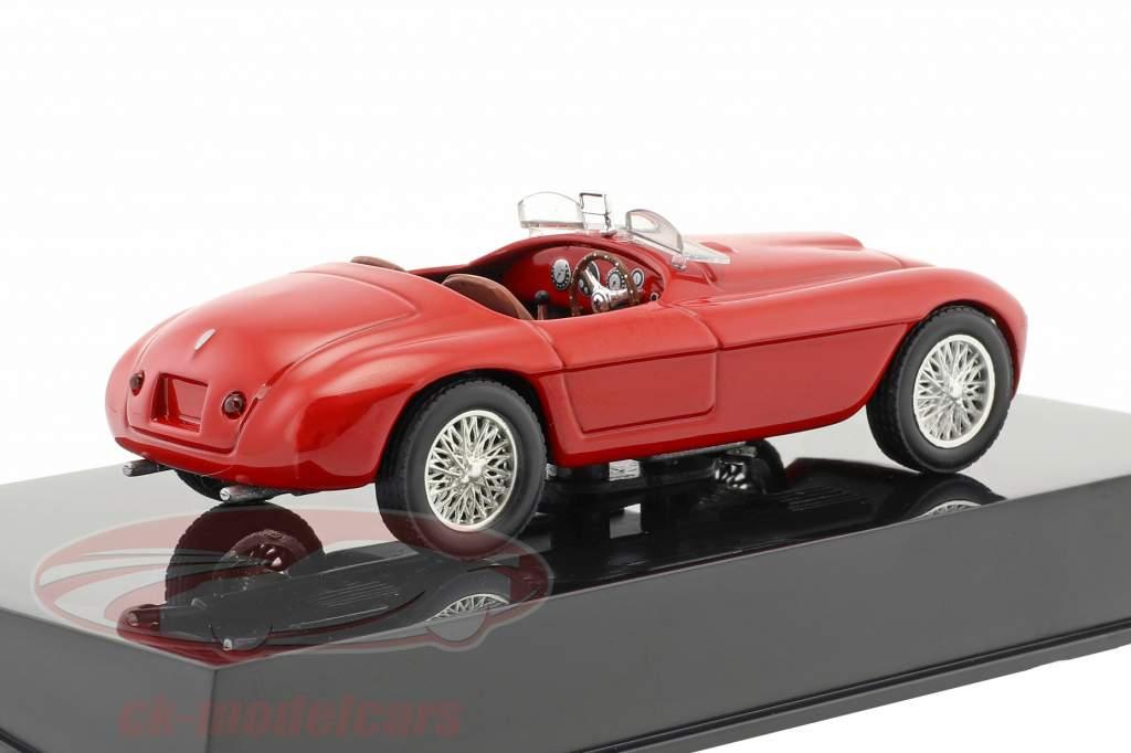 Ferrari 166 MM rouge avec vitrine 1:43 Altaya