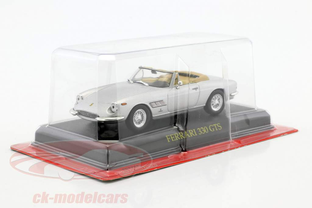 Ferrari 330 GTS silver 1:43 Altaya