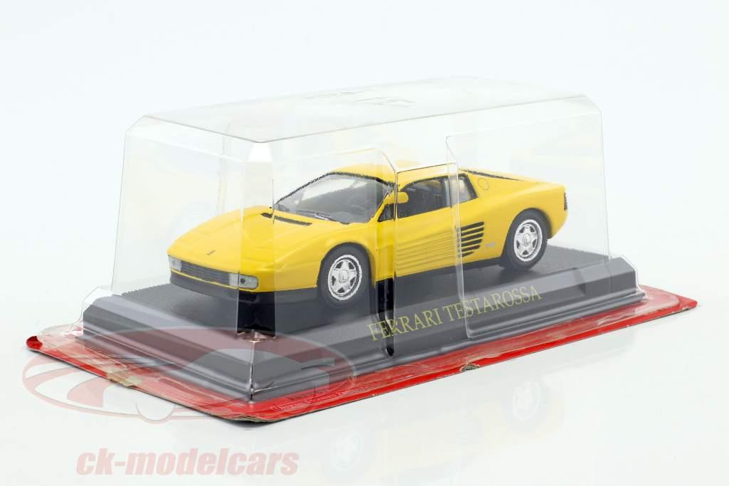 Ferrari Testarossa yellow 1:43 Altaya