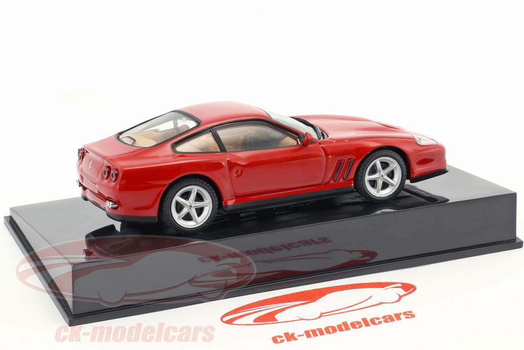 Ferrari 550 Maranello red with showcase 1:43 Altaya