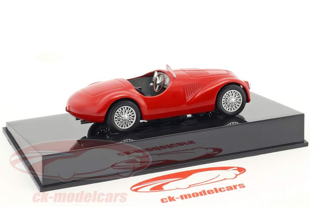 Ferrari 125S rosso con vetrina 1:43 Altaya