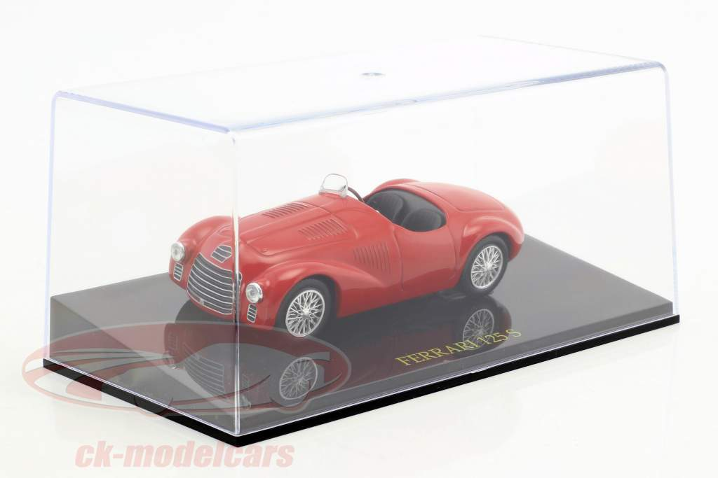 Ferrari 125S red with showcase 1:43 Altaya