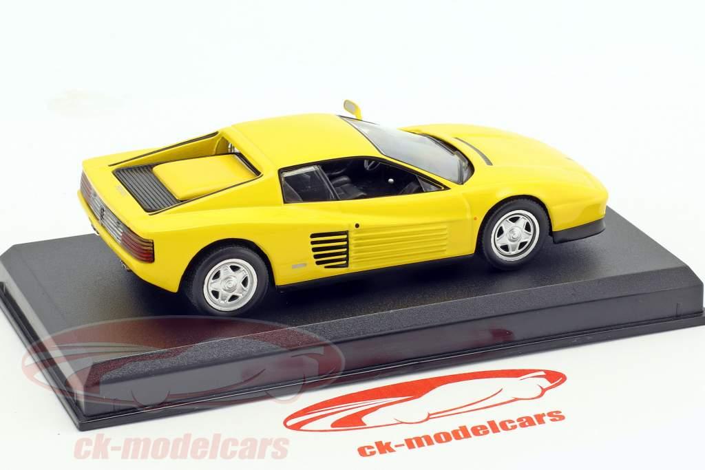 Ferrari Testarossa gelb 1:43 Altaya