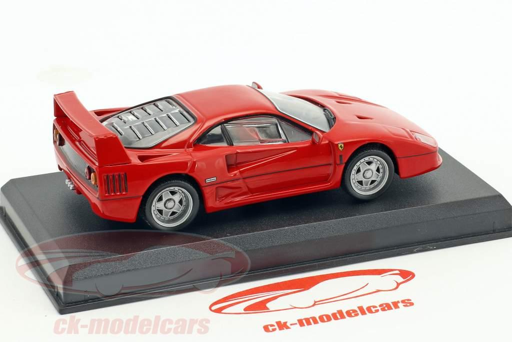 Ferrari F40 rosso 1:43 Altaya