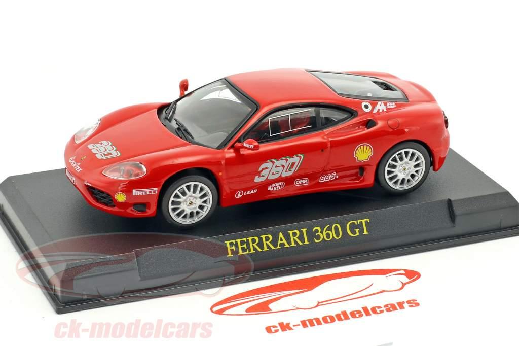 Ferrari 360 GT rouge 1:43 Altaya
