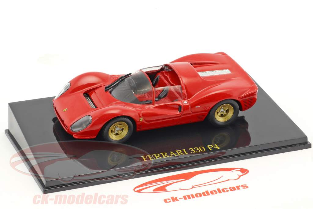 Ferrari 330 P4 red with showcase 1:43 Altaya