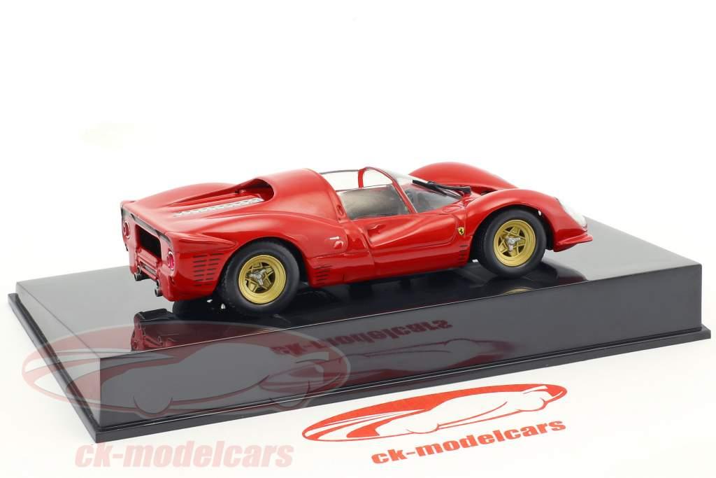 Ferrari 330 P4 rouge avec vitrine 1:43 Altaya