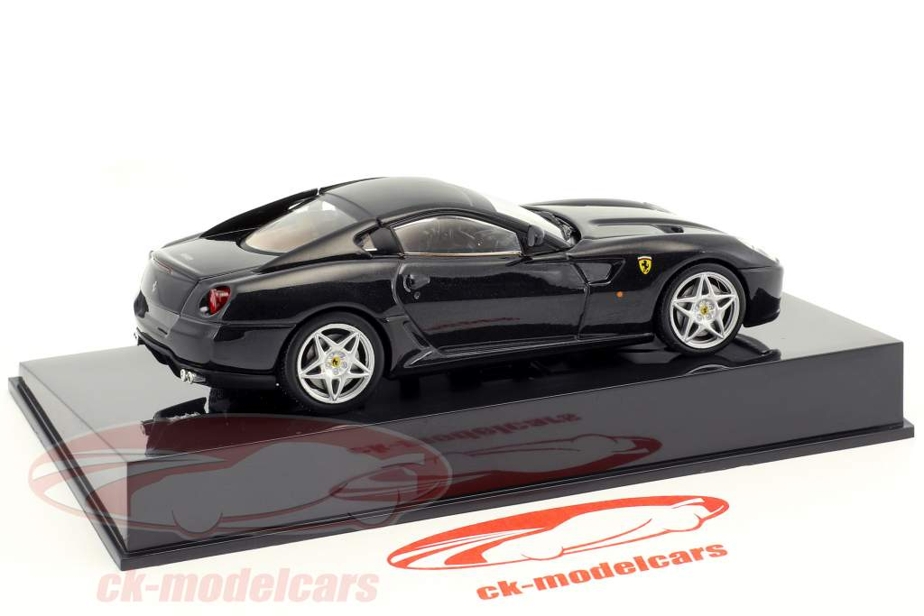 Ferrari 599 GTB Fiorano black with showcase 1:43 Altaya