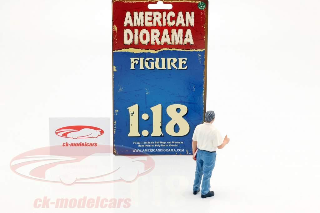 mecánico gerente Tim figura 1:18 American Diorama