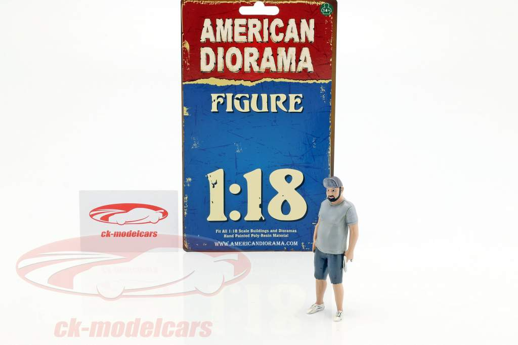 Hot Rodder Robert figure 1:18 American Diorama