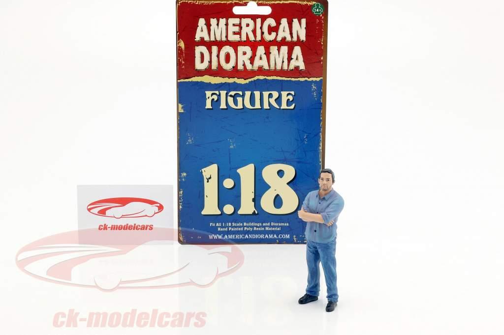 rue racer figure II 1:18 American Diorama