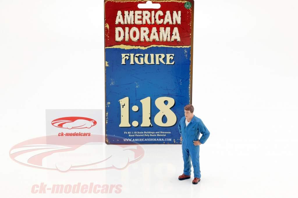 meccanico John cifra 1:18 American Diorama