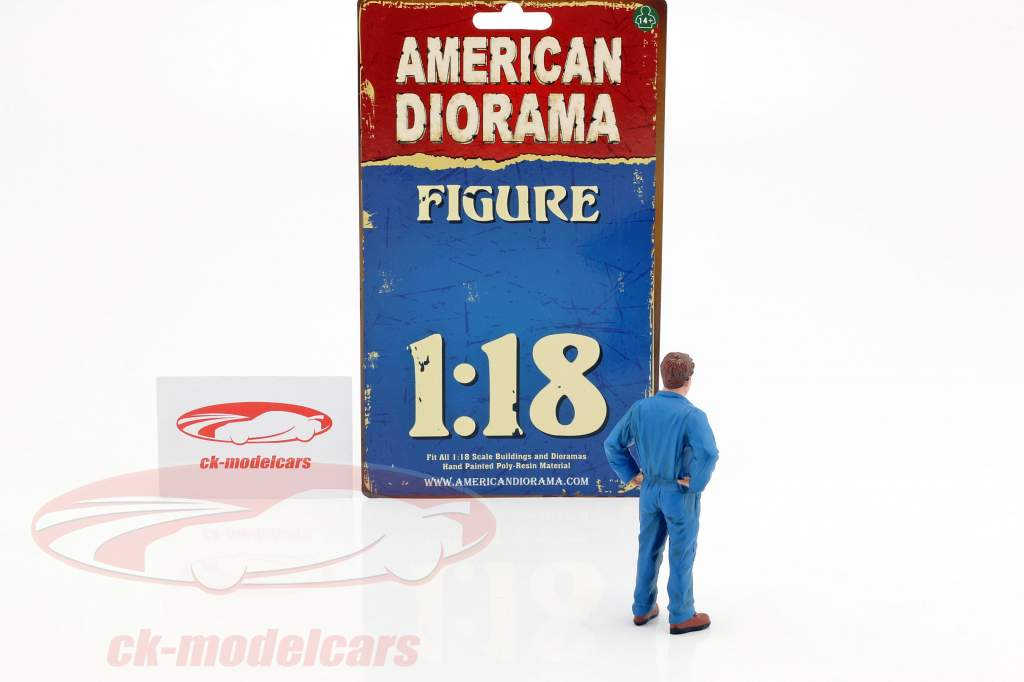 mécanicien John figure 1:18 American Diorama