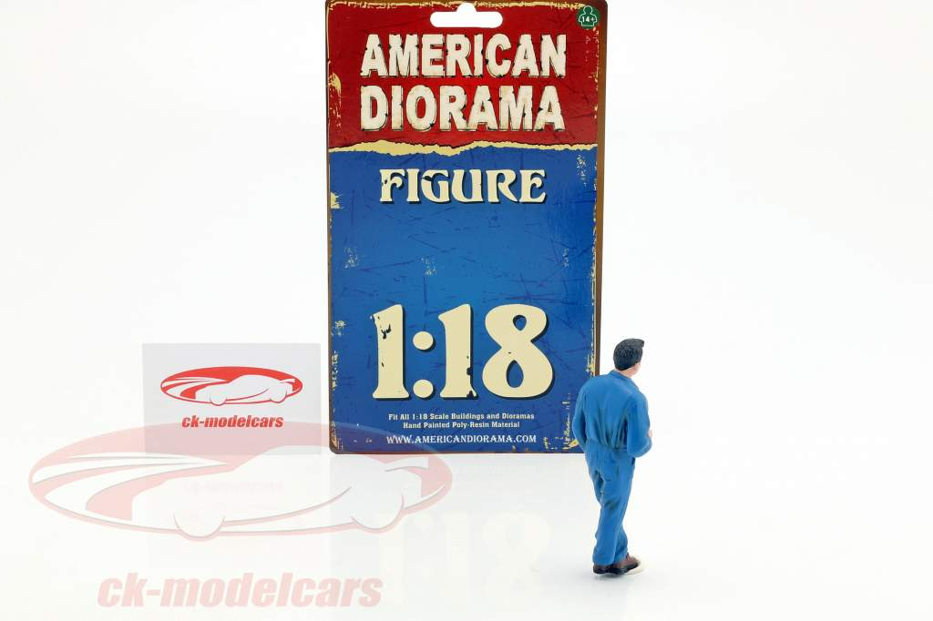 mecânico Larry figura 1:18 American Diorama