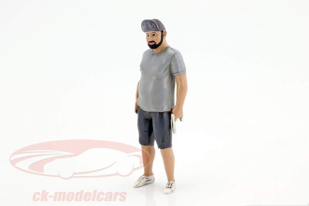 Hot Rodder Robert cifra 1:18 American Diorama