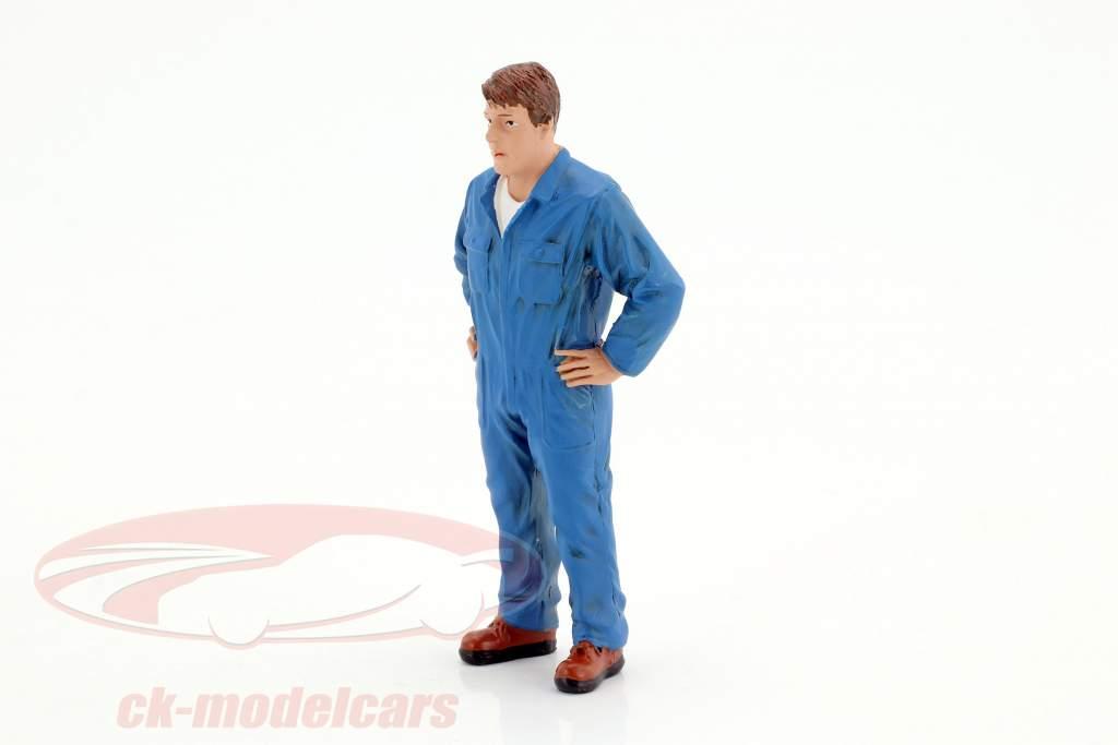monteur John figuur 1:18 American Diorama
