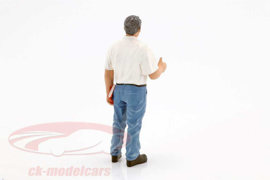 Mechaniker Manager Tim Figur 1:18 American Diorama