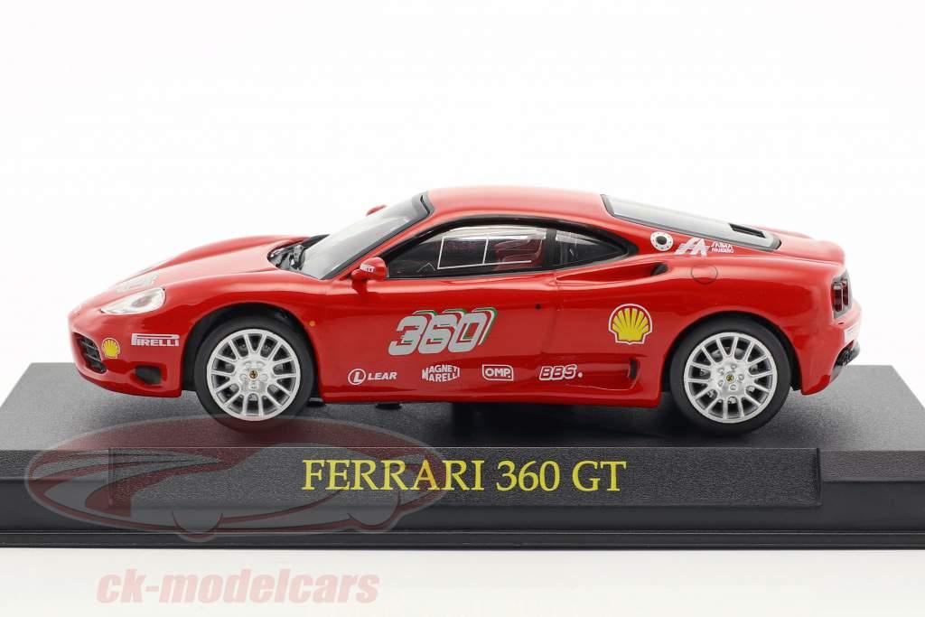 Ferrari 360 GT rot 1:43 Altaya