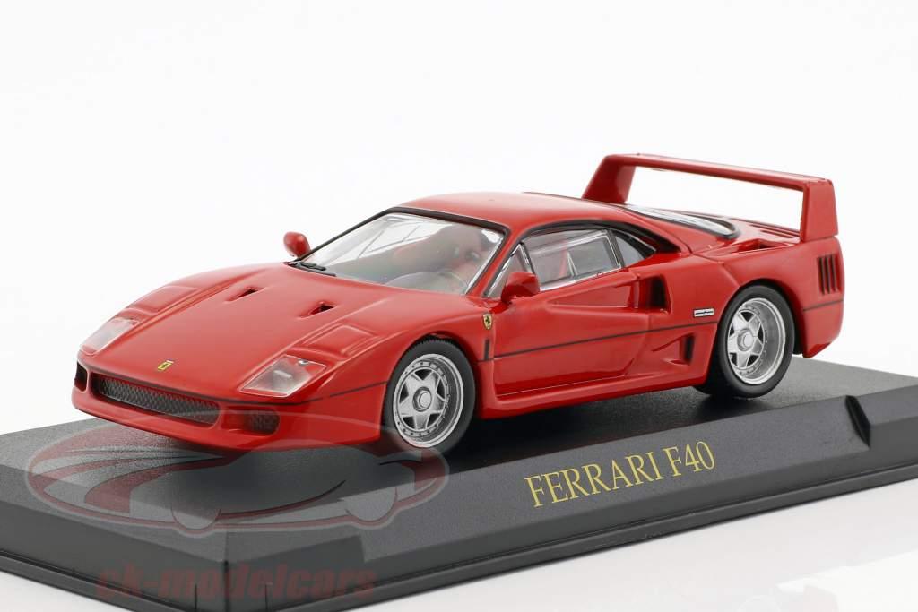 Ferrari F40 red 1:43 Altaya