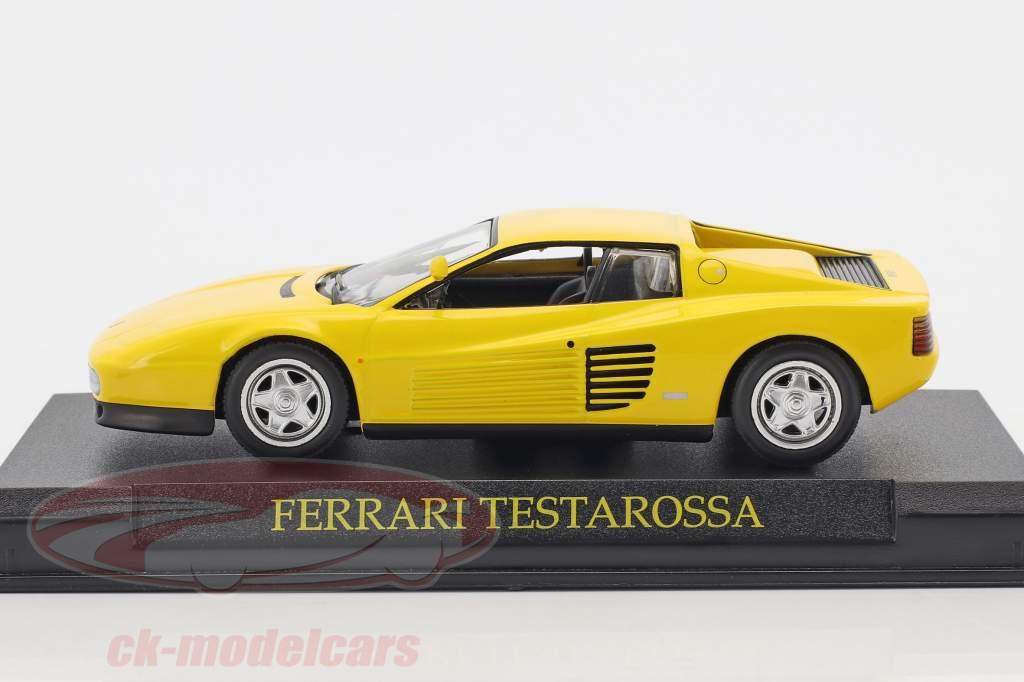 Ferrari Testarossa jaune 1:43 Altaya
