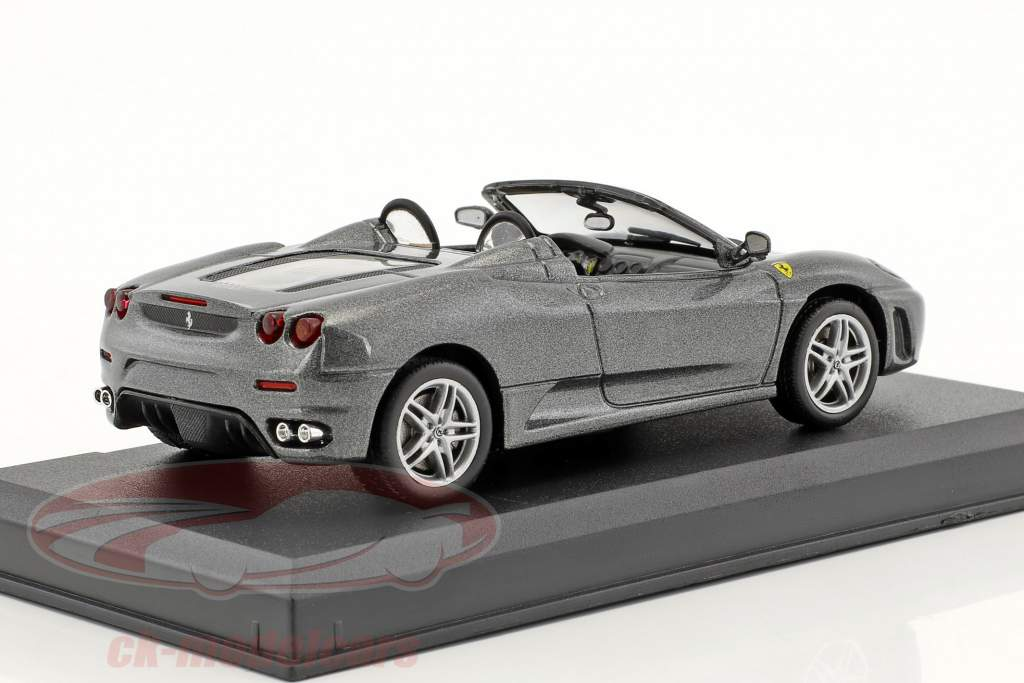 Ferrari F430 Spider grey metallic 1:43 Altaya