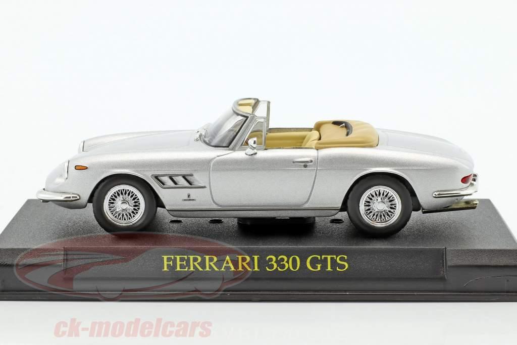 Ferrari 330 GTS argent 1:43 Altaya