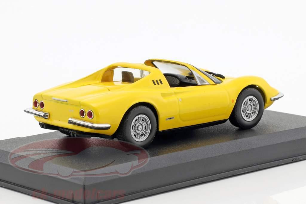 Ferrari Dino 246 GTS yellow 1:43 Altaya