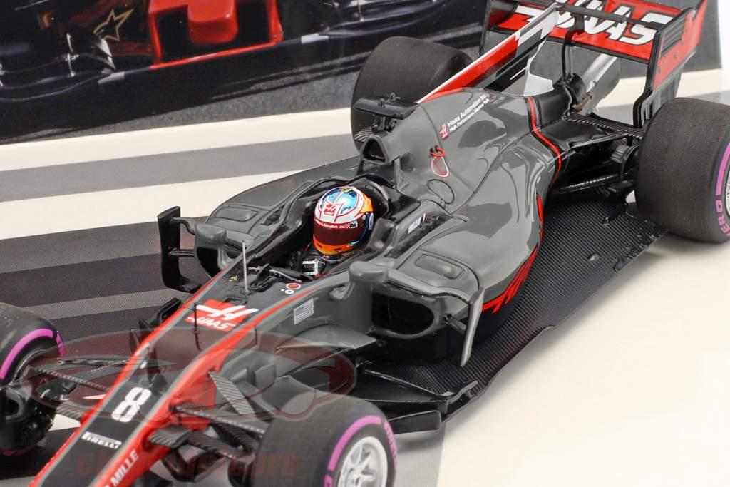 R. Grosjean #8 & K. Magnussen #20 2-Car Set Haas VF-17 formula 1 2017 1:43 Minichamps