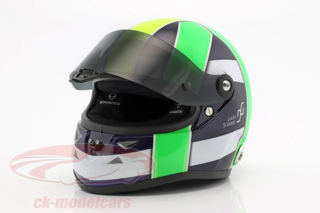 Lucas di Grassi wereldkampioen FIA-Formel E 2017 helm 1:2 Schuberth