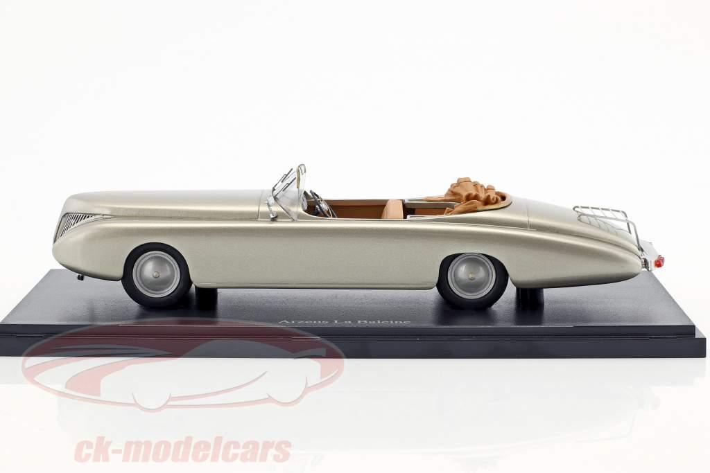 Arzens La Baleine year 1938 silver 1:43 AutoCult