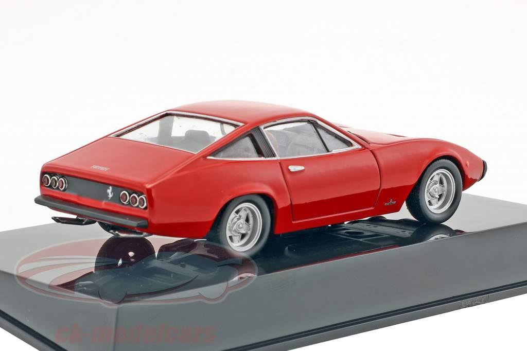 Ferrari 365 GTC/4 rot mit Vitrine 1:43 Altaya
